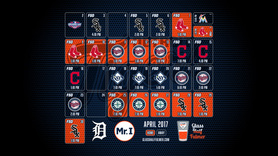 April 2017 Desktop Schedule Wallpaper